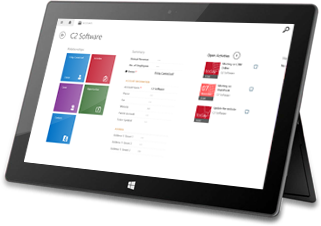Windows 8 CRM App example