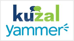 Kuzal and Yammer logo